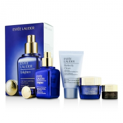 Skintone/Spot Correction Set: Enlighten Serum 50ml + Creme 15ml + ANR Eye Complex II 5ml + Perfectly Clean 30ml