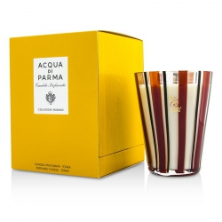 Murano Glass Perfumed Candle - Tonka