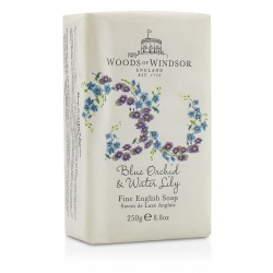Blue Orchid & Water Lily Fine English Soap