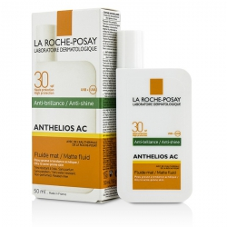 Anthelios AC 30 Anti-Shine Matte Fluid SPF 30 - For Oily To Acne-Prone Skin