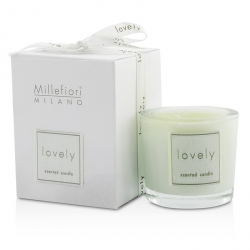 Lovely Candle In Bicchiere - Verde