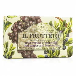 Il Frutteto Illuminating Soap - Red Grapes & Blueberry