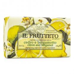 Il Frutteto Energizing Soap - Citron & Bergamot