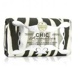 Chic Animalier Natural Soap - Hibiscus, Baobab Milk & Freesia