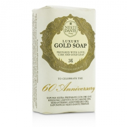 60 Anniversary Luxury Gold Soap With Gold Leaf (Limited Edition)