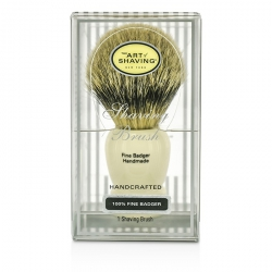 Fine Badger Shaving Brush - Ivory