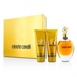 Roberto Cavalli (New) Coffret: Eau De Parfum Spray 75ml/2.5oz + Body Lotion 75ml/2.5oz + Shower Gel 75ml/2.5oz