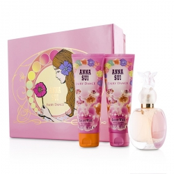Secret Wish Fairy Dance Coffret: Eau De Toilette Spray 50ml/1.7oz + Body Lotion 90ml/3oz + Shower Gel 90ml/3oz (Pink Box)
