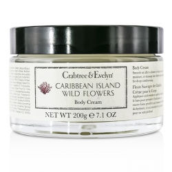 Caribbean Island Wild Flowers Body Cream