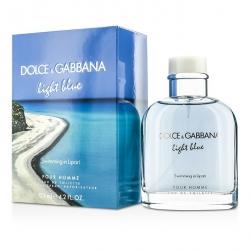 Light Blue Swimming In Lipari Eau De Toilette Spray (Limited Edition)