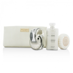 Omnia Crystalline Coffret: Eau De Toilette Spray 65ml/2.2oz + Soap 75g/2.6oz + Body Lotion 75ml/2.5oz + Pouch