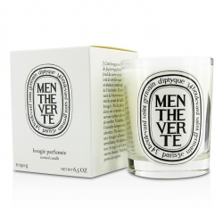 Scented Candle - Menthe Verte (Green Mint)