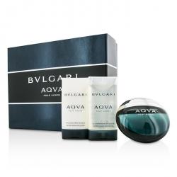 Aqva Pour Homme Coffret: Eau De Toilette Spray 50ml/1.7oz + After Shave Emulsion 75ml/2.5oz + Shower Gel 75ml/2.5oz