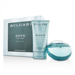 Aqva Pour Homme Marine Coffret: Eau De Toilette Spray 100ml/3.4oz + Shampoo & Shower Gel 150ml/5oz