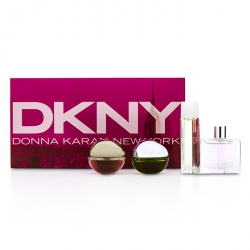 House Of DKNY Miniature Coffret: City, Be Delicious, Energizing, Golden Delicious