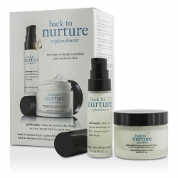 Back To Nurture Set: 1x Deeply Replenishing Oil Gelee 15ml/0.5oz, 1x Replenishing Moisture Creme 30ml/1oz