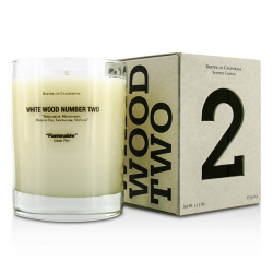 Scented Candles - White Wood Two