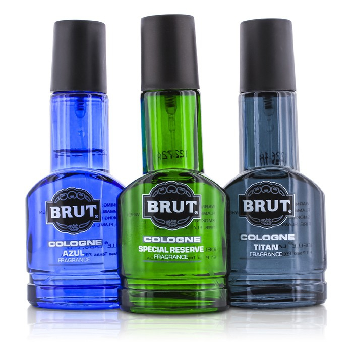 brut cologne spray coffret azul special reserve titan from