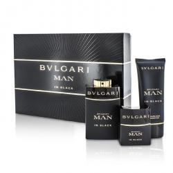 In Black Coffret: Eau De Parfum Spray 100ml/3.4oz + Eau De Parfum Spray 30ml/1oz + After Shave Balm 100ml/3.4oz