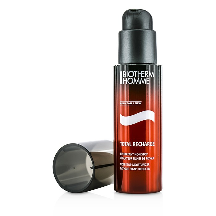 Biotherm - Homme Total Recharge Non-Stop Moisturizer - 50ml/1.69oz Red Ginseng For Men Moisturizing Cleansing Foam 4oz