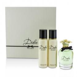 Dolce Coffret: Eau De Parfum Spray 75ml/2.5oz + Body Lotion 100ml/3.3oz + Shower Gel 100ml/3.3oz
