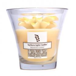 Floral Vase Premium Свеча - Большая Желтая Ромашка