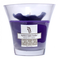 Floral Vase Premium Свеча - Пурпурная Фиалка