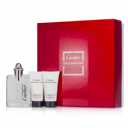 Declaration Coffret: Eau De Toilette Spray 50ml/1.6oz + All Over Shampoo 30ml/1oz + After Shave Emulsion 30ml/1oz