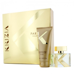 Pour Femme Coffret: Eau De Parfum Spray 30ml/1oz + Body Lotion 100ml/3.38oz