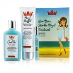 Shaveworks Skin Royalty Signature Набор: Крем для Бритья 150г + Гель Лосьон 156мл + Роликовое Средство 10мл