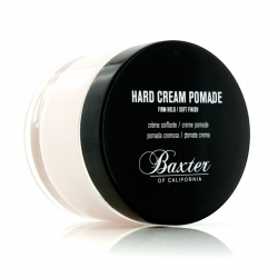 Hard Cream Pomade (Firm Hold/Soft Finish)