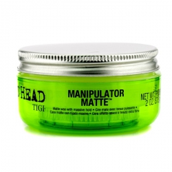 Bed Head Manipulator Matte - Матовый Воск с Сильной Фиксацией