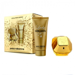 Lady Million Special Travel Edition Coffret: Eau De Parfum Spray 80ml/2.7oz + Sensual Body Lotion 100ml/3.4oz