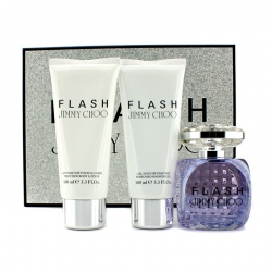 Flash Coffret: Eau De Parfum Spray 100ml/3.3oz + Body Lotion 100ml/3.3oz + Shower Gel 100ml/3.3oz