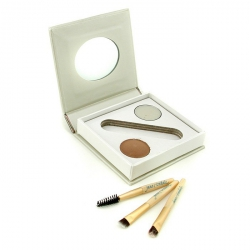 Bitty Brow Kit - Blonde (1x Brow Powder, 1x Brow Wax, 3x Applicator)