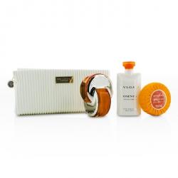 Omnia Indian Garnet Coffret: Eau De Toilette Spray 65ml/2.2oz + Body Lotion 75ml/2.5oz + Soap 75g/2.5oz + Pouch