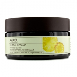 Mineral Botanic Velvet Body Butter - Tropical Pineapple & White Peach