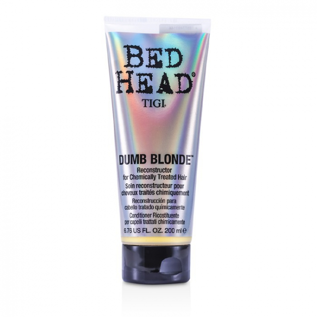 Tigi Bed Head Dumb Blonde Reconstructor For Chemically Treated Hair Buy To Lebanon Cosmostore Lebanon