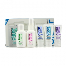 Clear Start Breakout Clearing Kit: Foaming Wash + Toner + Daytime Treatment + Moisturizer SPF 15 + Overnight Treatment