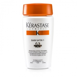 Nutritive Bain Satin 1 Exceptional Nutrition Shampoo (For Normal to Slightly Dry Hair)