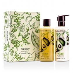 Avocado, Olive & Basil Perfect Pair: Bath & Shower Gel 250ml + Body Lotion 250ml