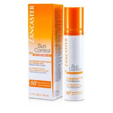 Lancaster Sun Control Face Uniform Tan Cream Spf 30  50ml/1.7oz Shopkins 7Pack Lip Balm Set