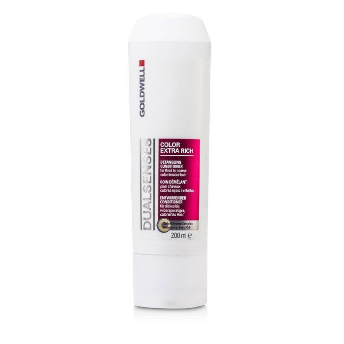 Dual Senses Color Extra Rich Detangling Conditioner For Thick To