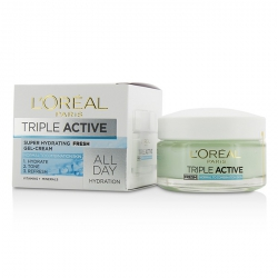 Triple Active Fresh Ultra-Hydrating Gel-Cream (For Normal & Combination Skin)