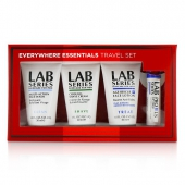 Lab Series Travel Set: Multi-Action Face Wash 30ml + Face Lotion 30ml + Shave cream 30ml + Lip Balm 4.3g