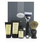 Lexington Collection Power Shave Набор для Бритья: Станок + Кисть + Масло до Бритья + Крем для Бритья + Бальзам после Бритья - без Батарейки