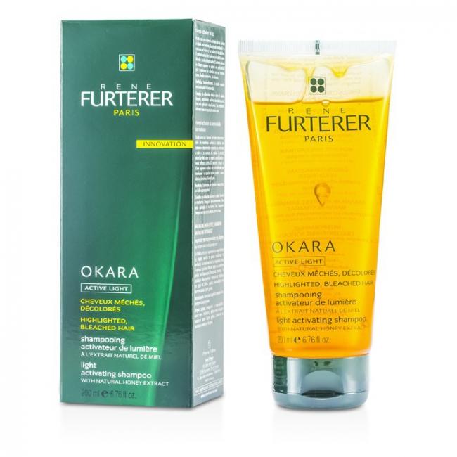 Buy Okara Light Activating Shampoo For Highlighted Bleached Hair