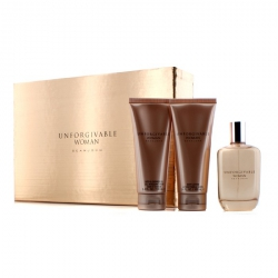 Unforgivable Coffret: Parfum Spray 125ml/4.2oz + Body Lotion 100ml/3.4oz + Shower Gel 100ml/3.4oz