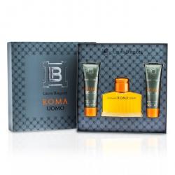 Roma Coffret: Eau De Toilette Spray 75ml/2.5oz + Shower & Bath Gel 50ml/1.6oz x 2