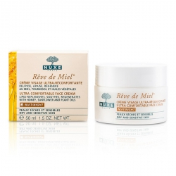 Reve De Miel Ultra Comfortable Face Night Cream (Dry & Sensitive Skin)